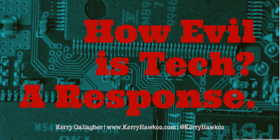 How Evil is Tech? A Response.