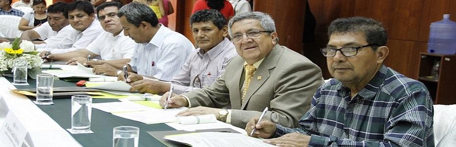 Firma de Convenios con Municipalidades de la Región Lambayeque