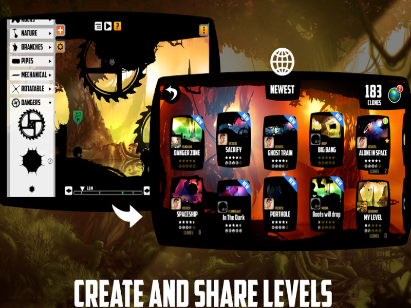 Best Offline Android Game - BADLAND