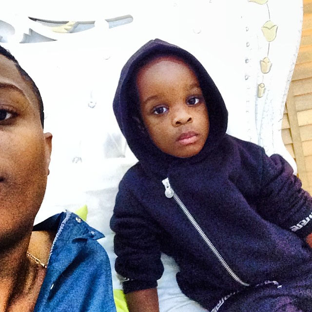 See what Wizkid's son, Boluwatife, wrote about respect