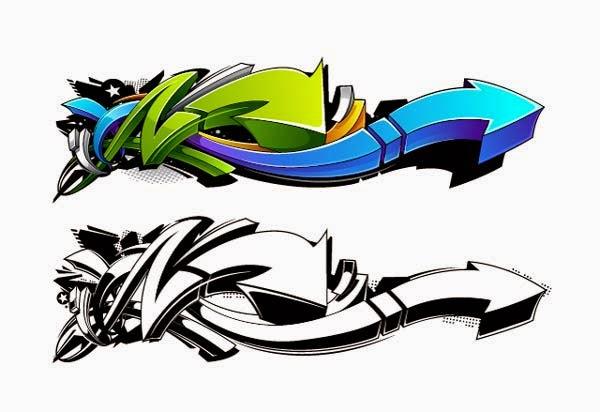 Create a Wild, Graffiti-Style Arrow Design in Adobe Illustrator