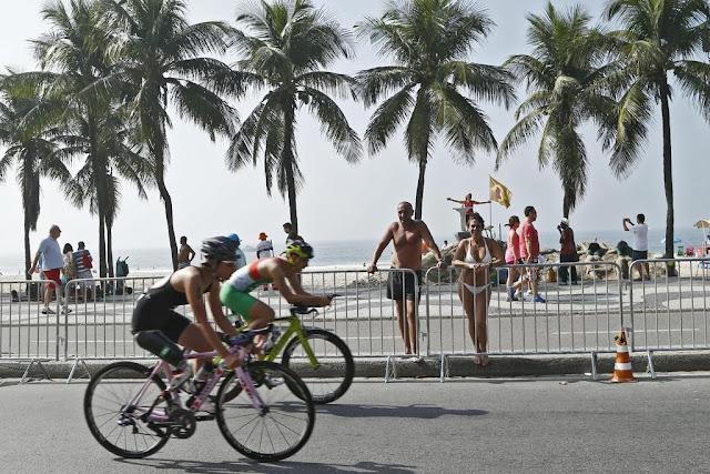 Triatlo em Copacabana, Jogos Olímpicos Rio 2016