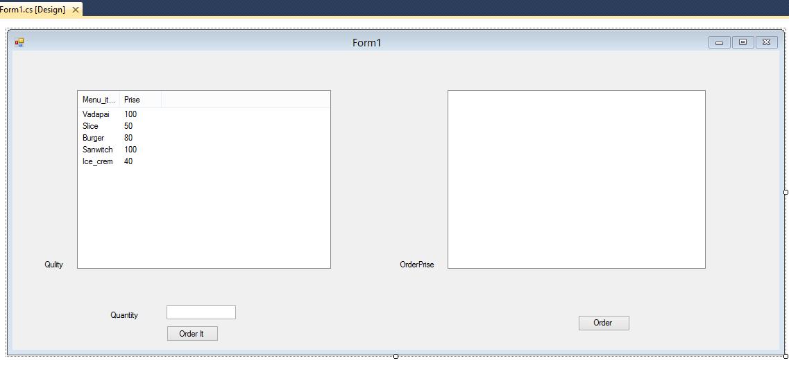 Billing Management System C#- in Windows Forms Application c# ~ Dot