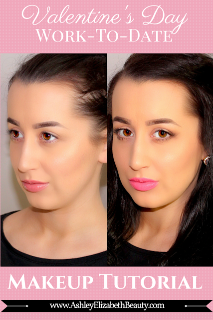 Valentine's Day Quick and Easy Work-to-Date Makeup Tutorial