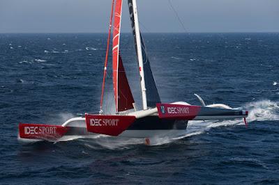 Francis Joyon repartira à l'assaut du Trophée Jules Verne cet hiver !
