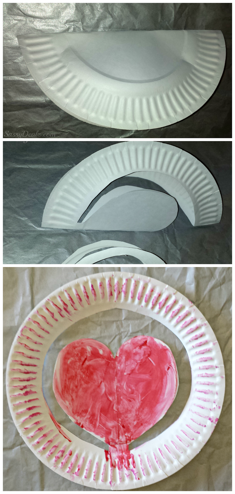 heart paper plate craft list of easy s day crafts for crafty morning 4654