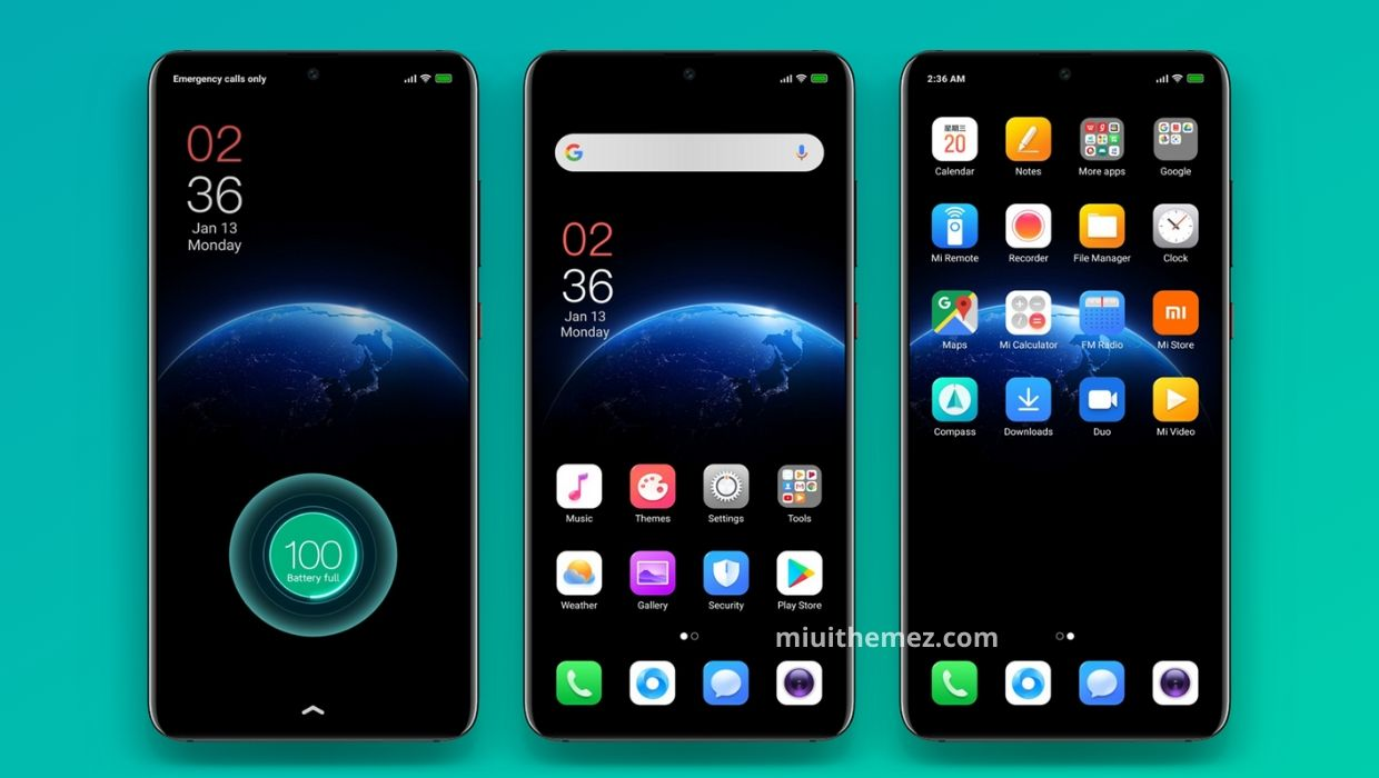 Realme MIUI Theme for Xioami Devices