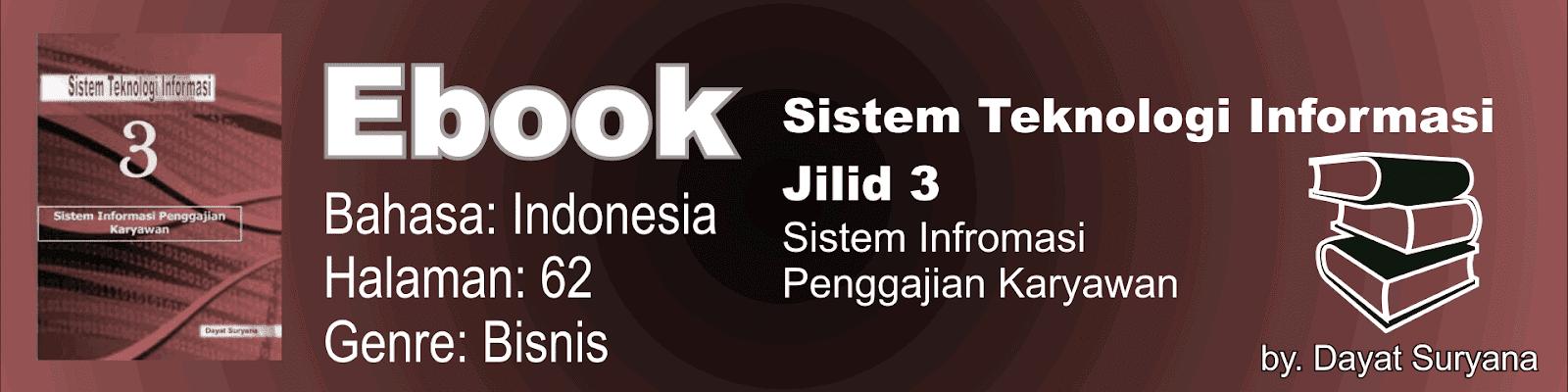 Buku Sistem Teknologi Informasi Jilid 3