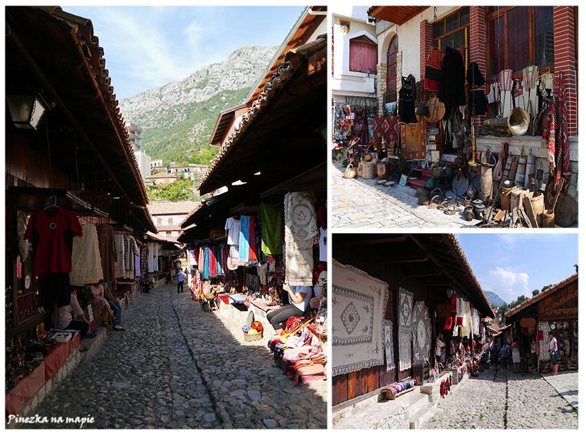 stary bazar w Kruji