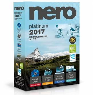 Nero 2017 Platinum 18.0.06100 Multilenguaje Full Mega
