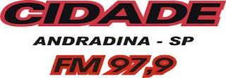 Rádio Cidade FM de Andradina SP ao vivo