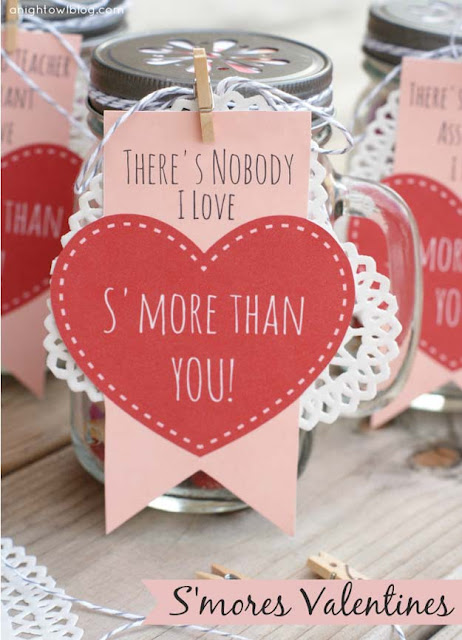 15 Cute DIY Valentine's Day Mason Jars Ideas