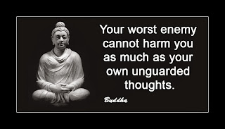 Buddhist quotes on thoughts image