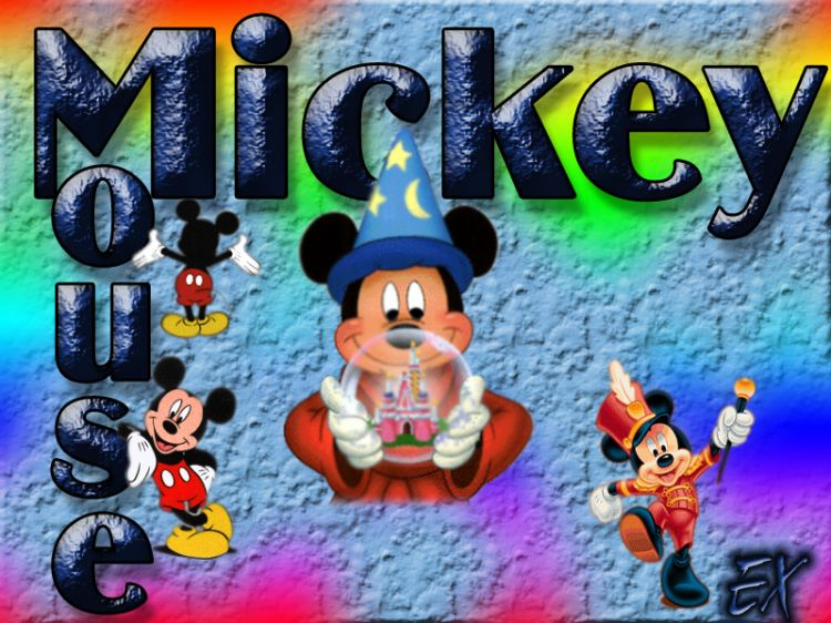 Fond d 39 cran mickey fonds d 39 cran hd for Image swag qui bouge