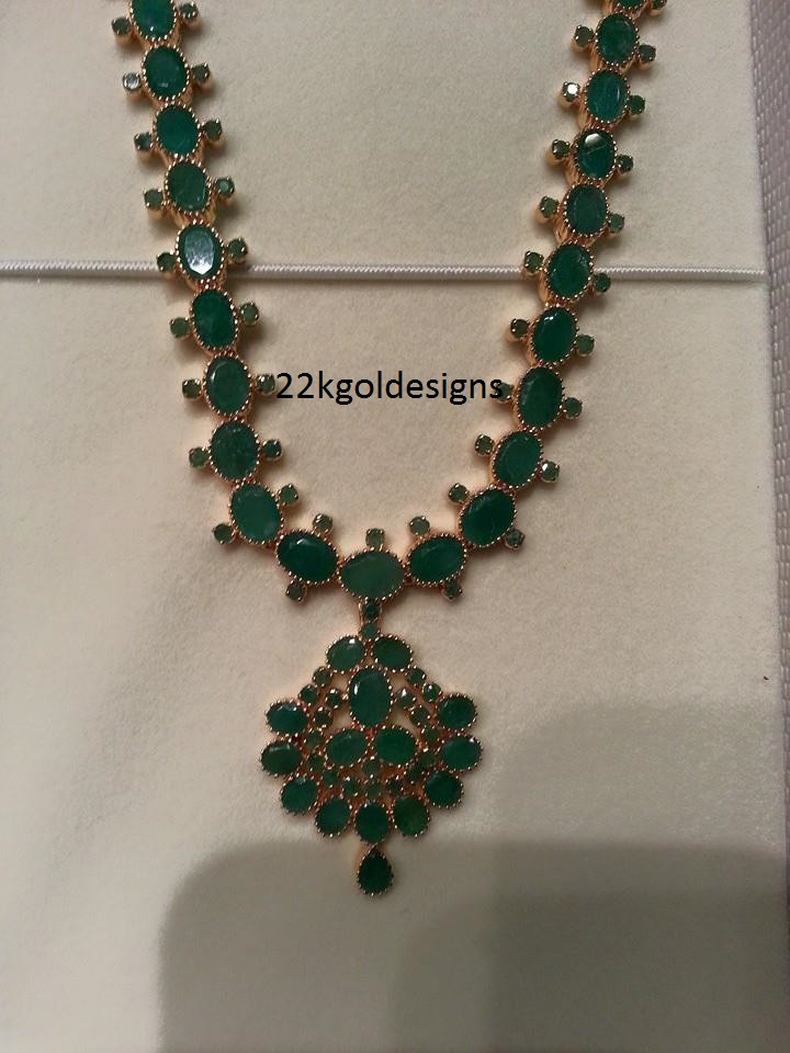Traditional Emerald Haram design