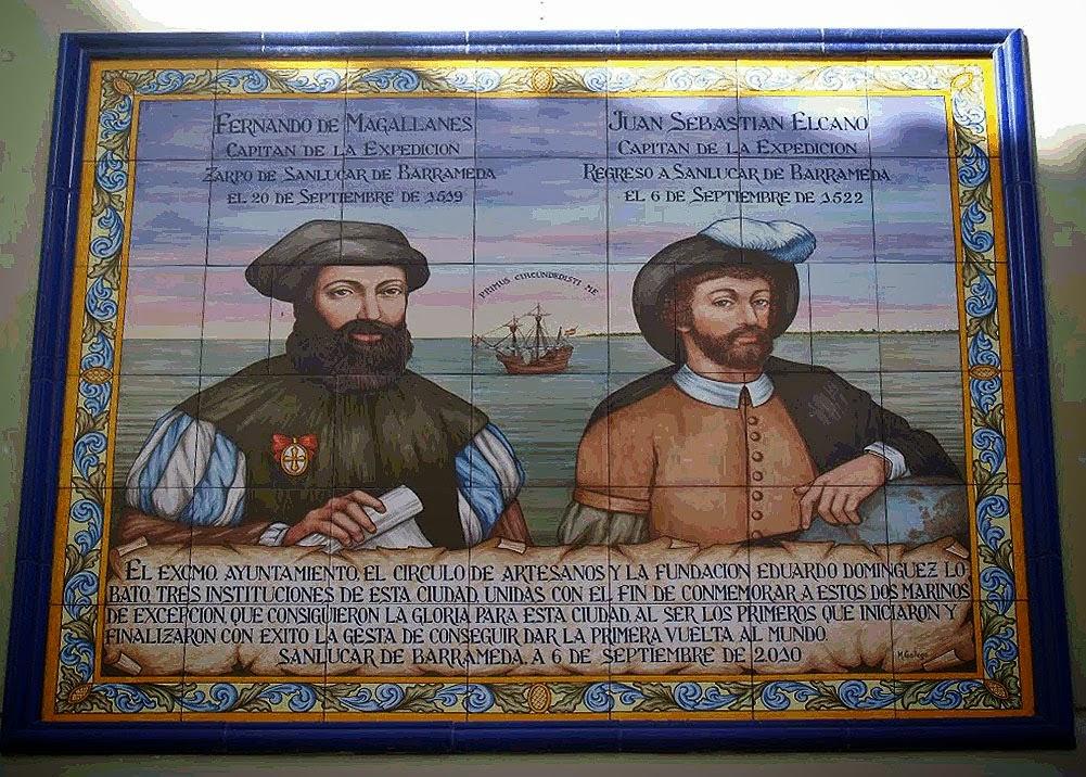 Resultado de imagen de Magallanes y Elcano