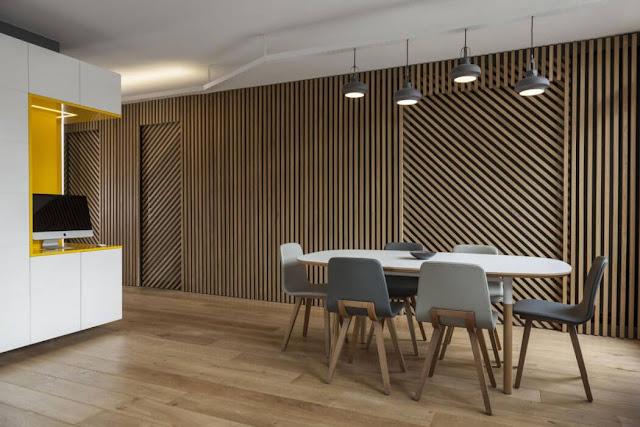 Kleine Wohnung mit 2 Schlafzimmer, Küche, Bad und Wohnzimmer perfekt in Paris eingerichtet – Design zum Wohnen