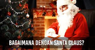 Sinterklas berasal dari kebudayaan Belanda maka Santa Claus berasal dari tanah Amerika