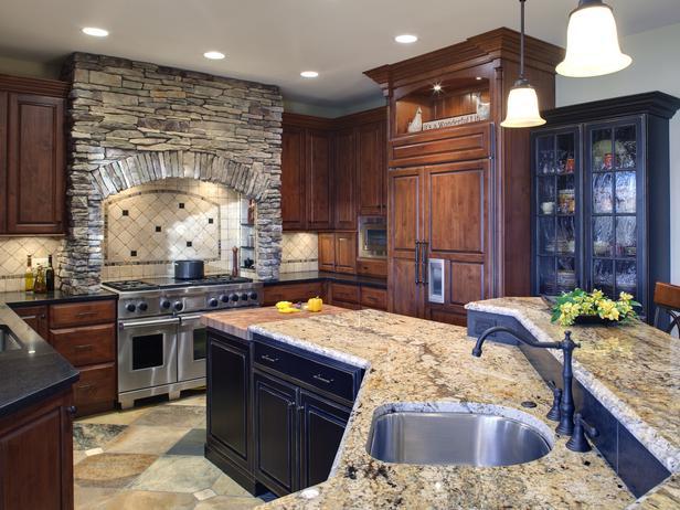 Modern furniture old world kitchen design with neutral color for Kitchen design 6 4