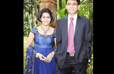 Rohan Murthy dan Lakshmi Venu