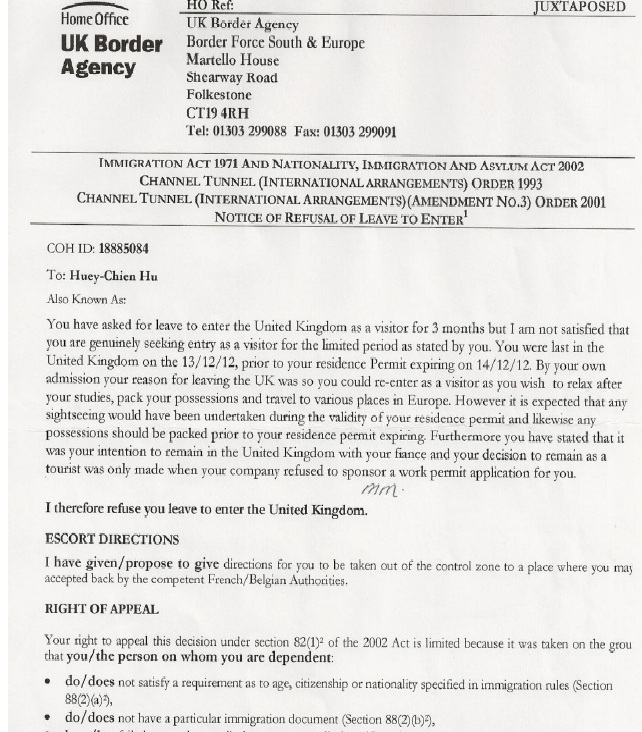 UK VISAS: Case Studies