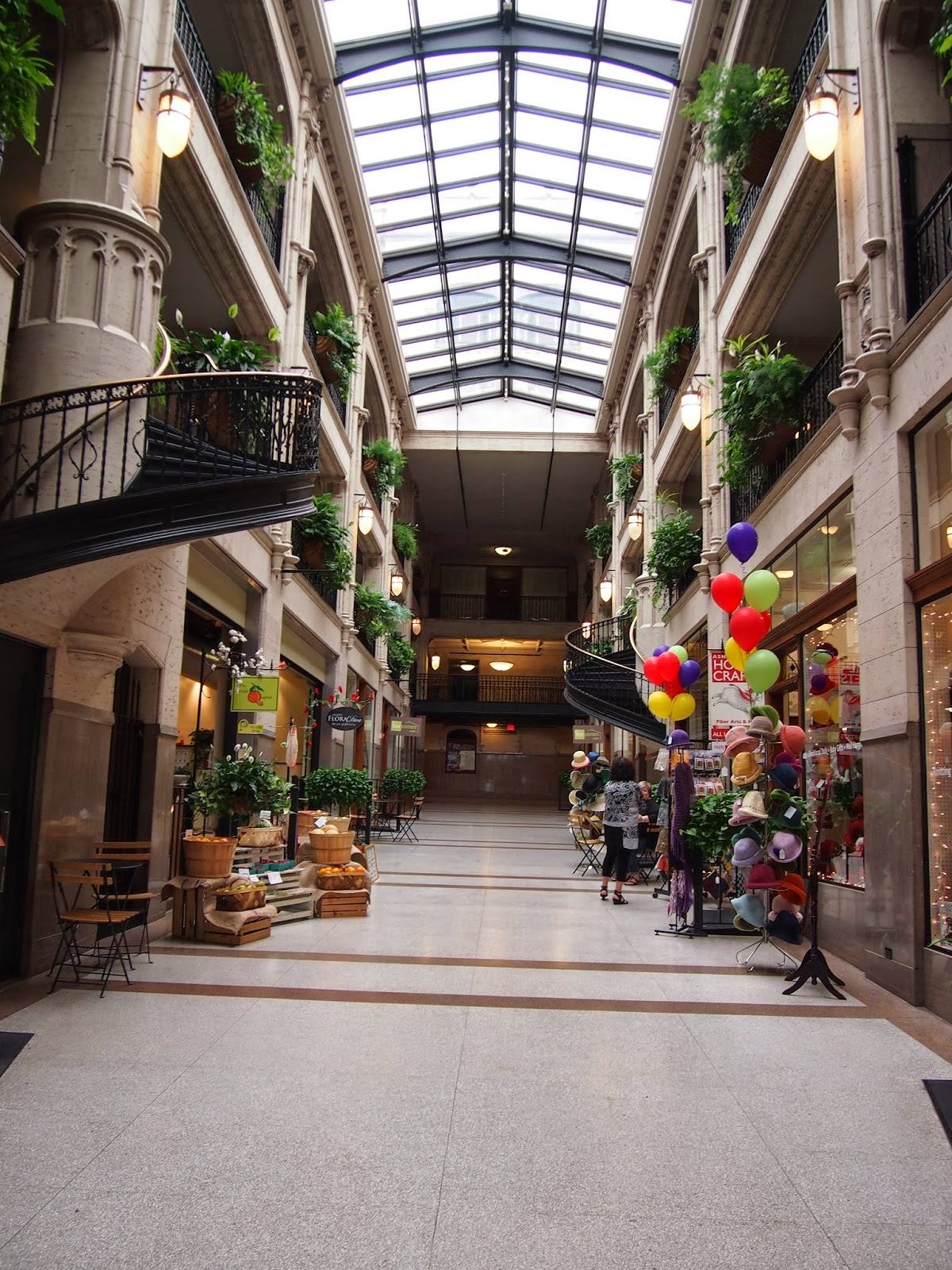 The Grove Arcade in Asheville, North Carolina