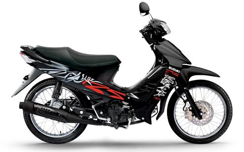 Suzuki BEST 125: Negra-Roja