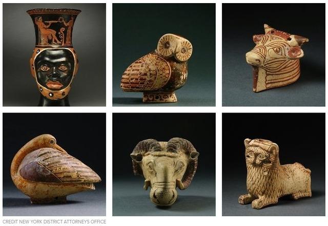 Κλεμμένος αρχαιολογικός θησαυρός από την Ελλάδα βρέθηκε σε σπίτι δισεκατομμυριούχου στη Νέα Υόρκη