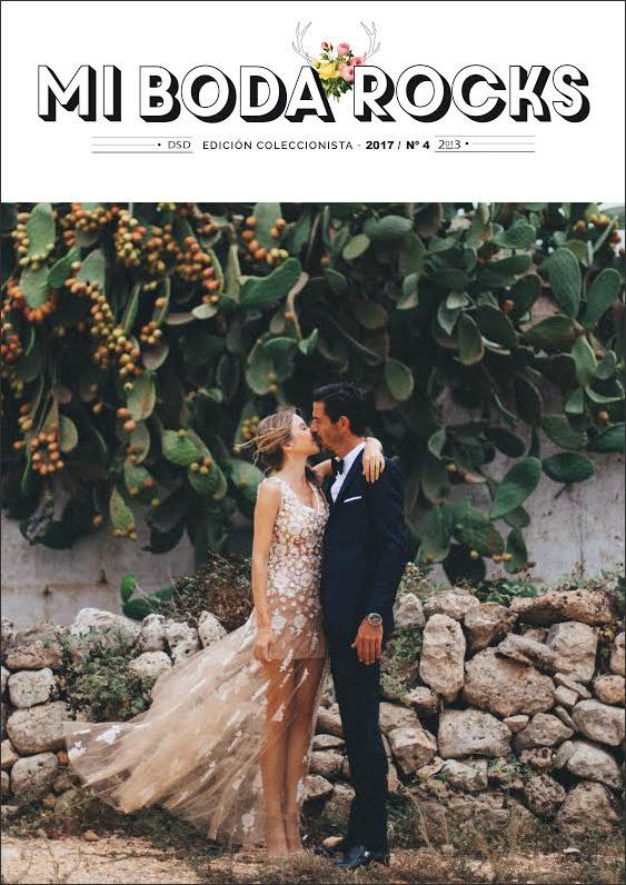 mi boda rocks magazine 2017 - revista bodas diferentes