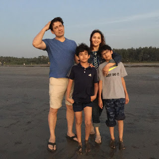 madhuri dixit's family