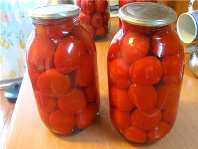 Сколько кг помидоров надо на 3-х литровую банку