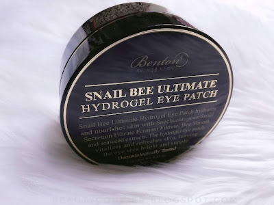 benton snail bee ultimate hydrogel eye patches