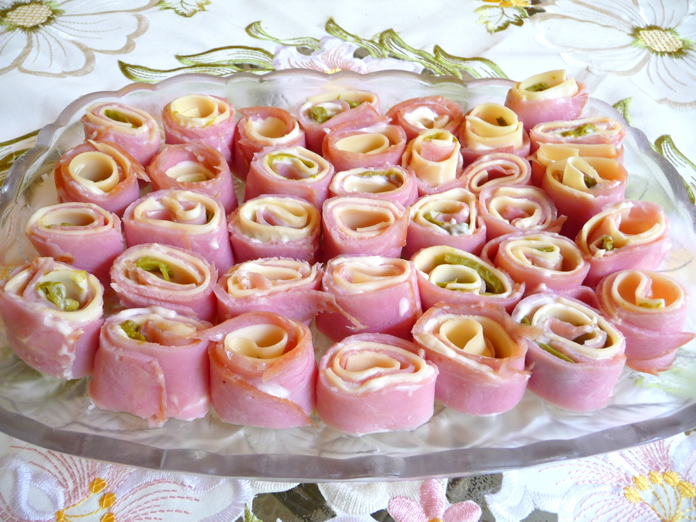 Splendid Low Carbing By Jennifer Eloff Ham And Other Cold Meat Roll Ups