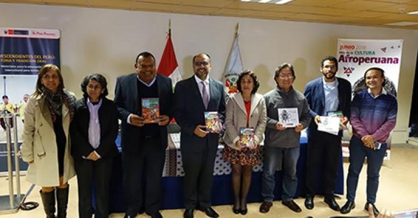 MINEDU publica tres libros sobre la cultura afroperuana - www.minedu.gob.pe