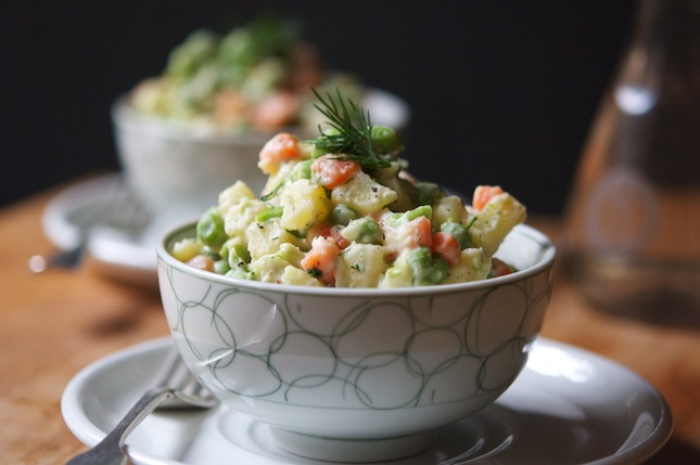 Vegan Russian Salad