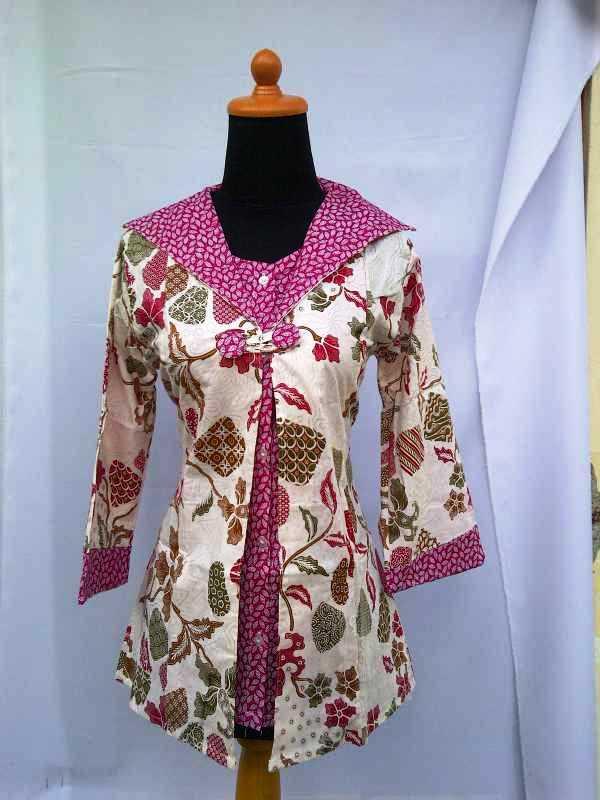 39 Koleksi Baju Batik Wanita Modern Trendy 2019 - Model ...