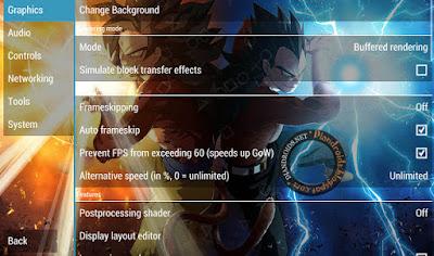 PSP untuk android Bisa Ganti Background Terbaru