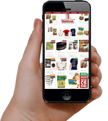Belanja Online Souvenir Aceh di MallAceh,  Mall Aceh SEO responsive mobile
