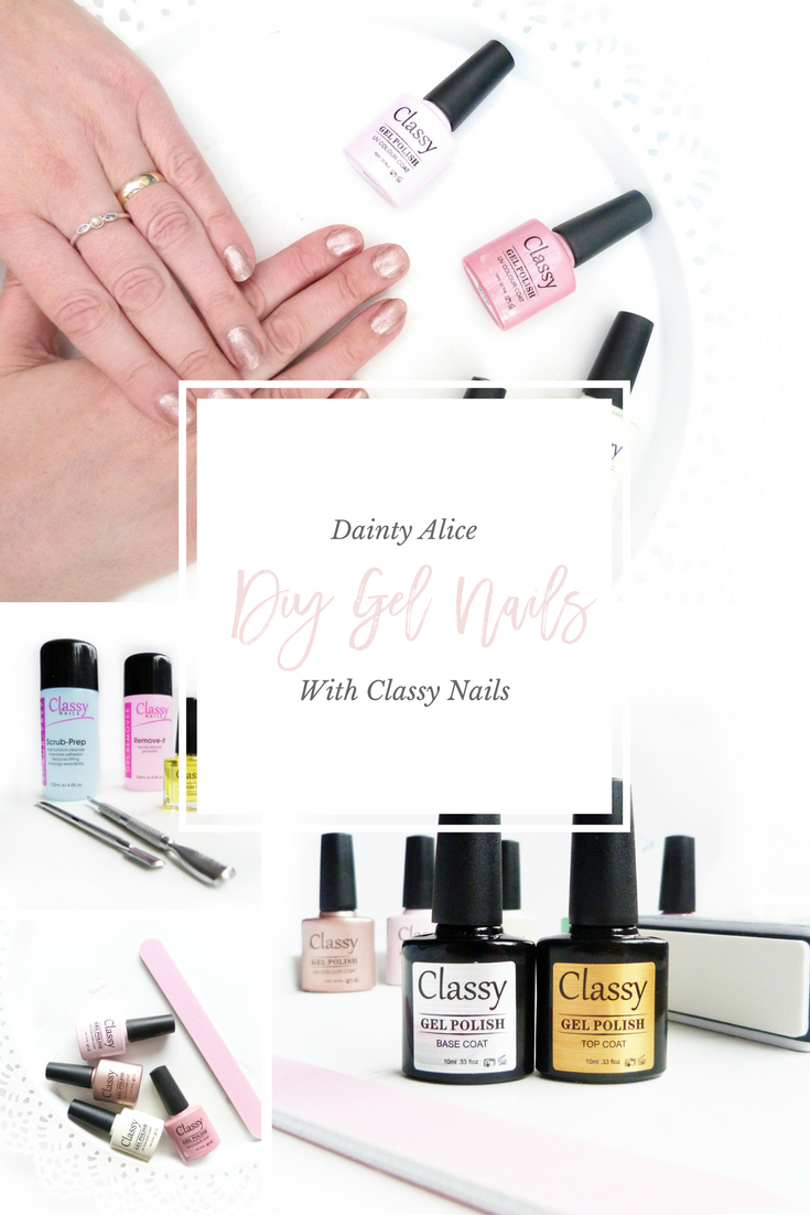 DIY Gel Nails - Pin Me!
