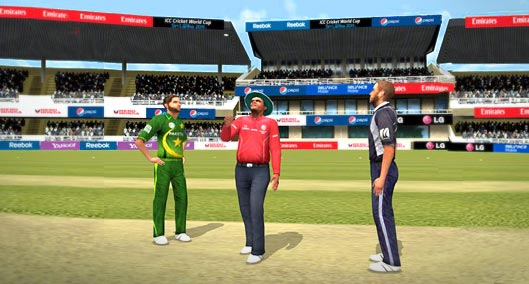 cricket world cup 2011 computer games free