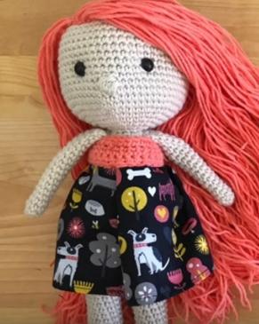 Cabelinho mais lindo...:3 | Bonecas de tricô, Cabelo de boneca ... | 365x291