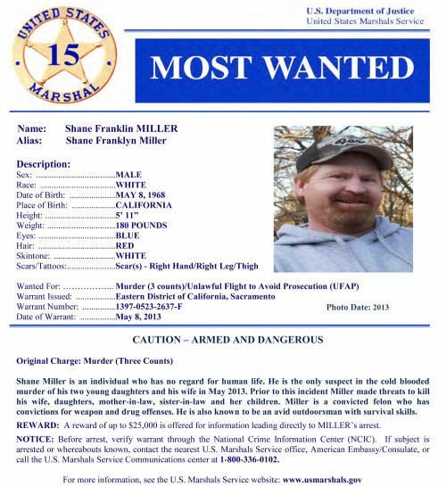 Highlands Ranch Shooting Update: US Marshal Most Wanted : Distributist + Survivalist