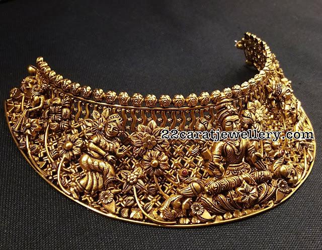 Lakshmi Choker by Shankarlal Jewellers
