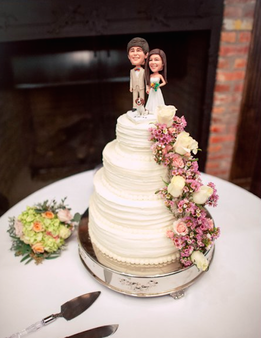 Mary Lindsey's Wedding Cake