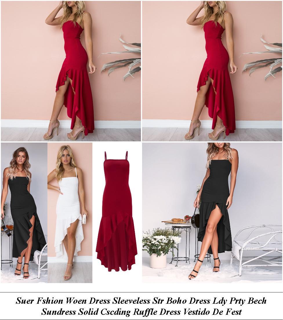 Chiffon Dress - Nice Designer Clothes - Womens Light Pink Dress