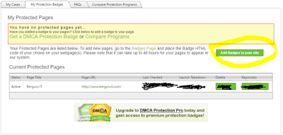 Pages DMCA Protection