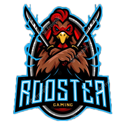 desain logo ayam petarung