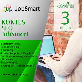 Info Kontes Seo Terbaru JobSmart