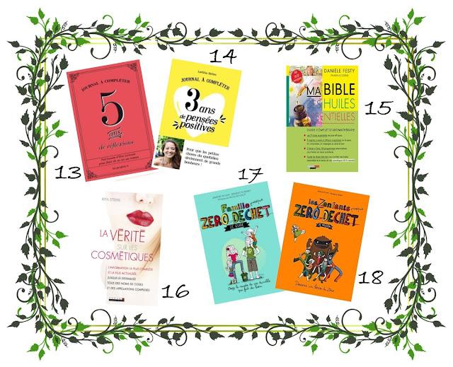 cadeaux livres ecologie bienveillance cosmetiques naturels