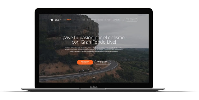 Nace Gran Fondo Live powered by Strava